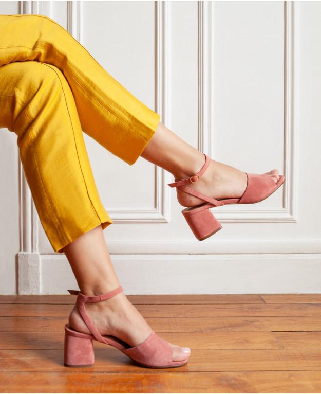 image La sandale blush