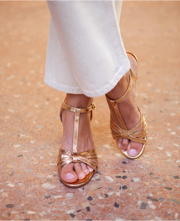 image La sandale gold