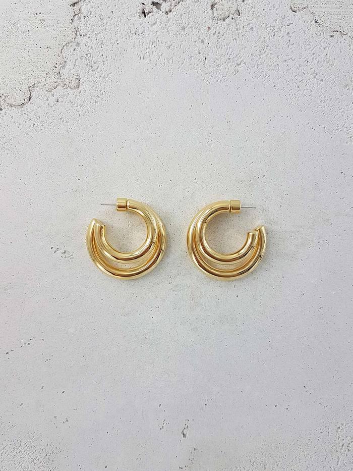 image Twin Hoops